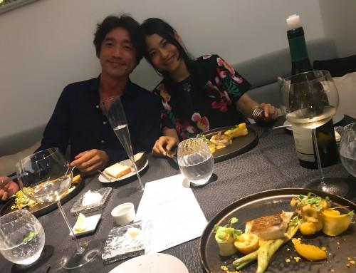 マツダミヒロ夫妻とのディナー。世界中を旅しながら、仕事も人生も大きく循環させて、さらに豊かになる生き方